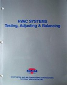 Hvac testing adjusting and balancing manual