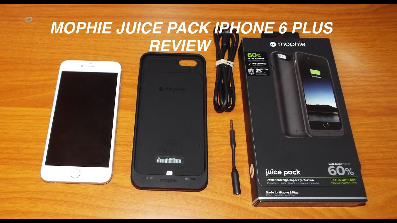 mophie iphone 6 plus instructions