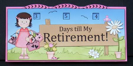retirement countdown timer instructions