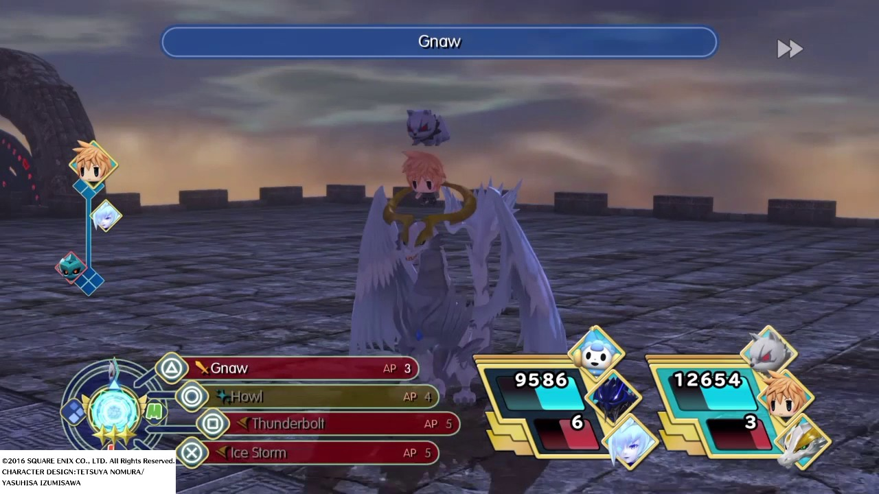 World.of final fantasy how to get maduin