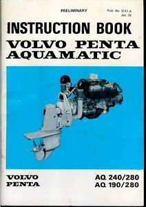 volvo penta md7b owners manual