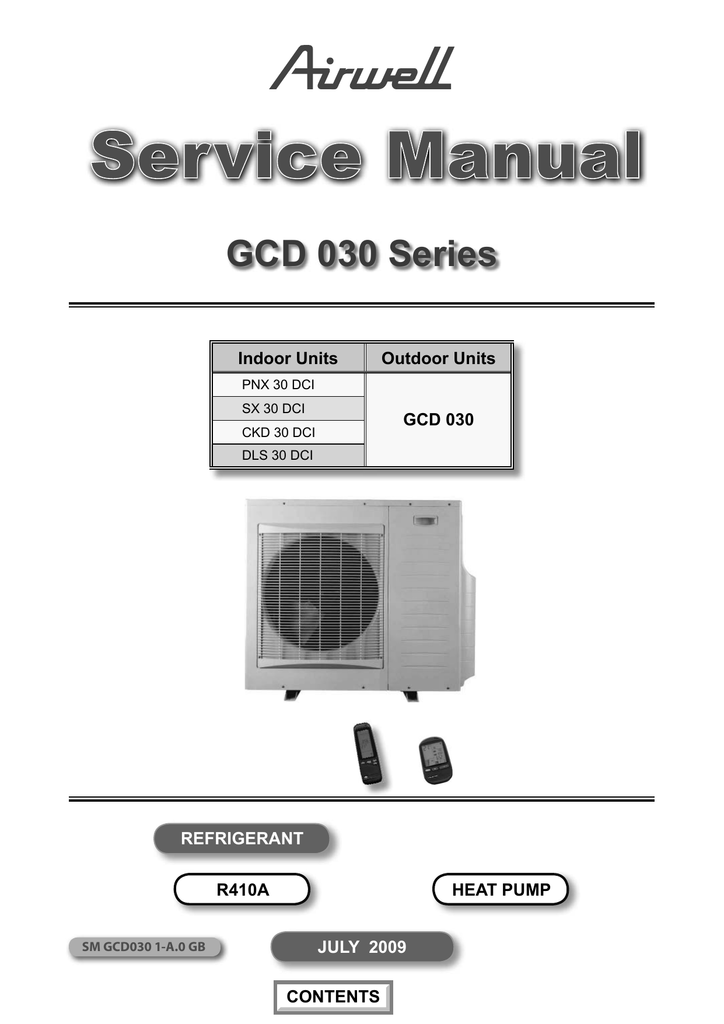 airwell ducted air conditioning manual