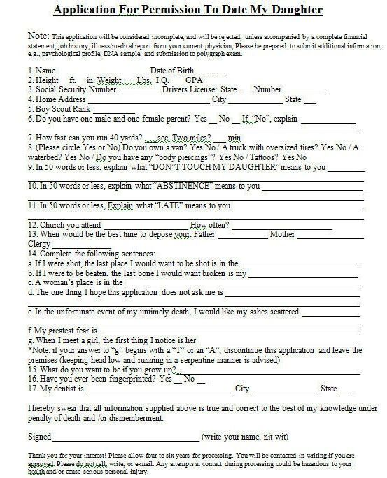 Application to date my daughter jw pdf