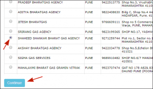Bharat gas online application form