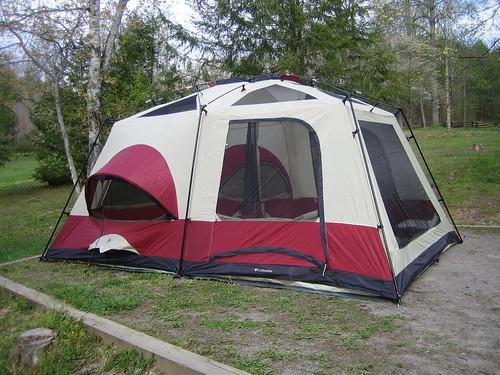 columbia cb 9000 cougar tent instructions