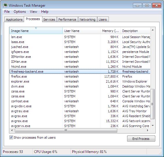 Batterybar.exe how to end task process