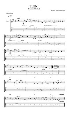 Cancion del mariachi tab pdf