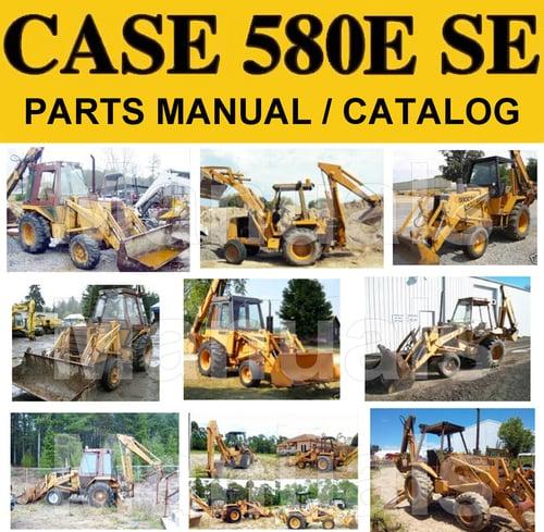 case 580 backhoe parts manual