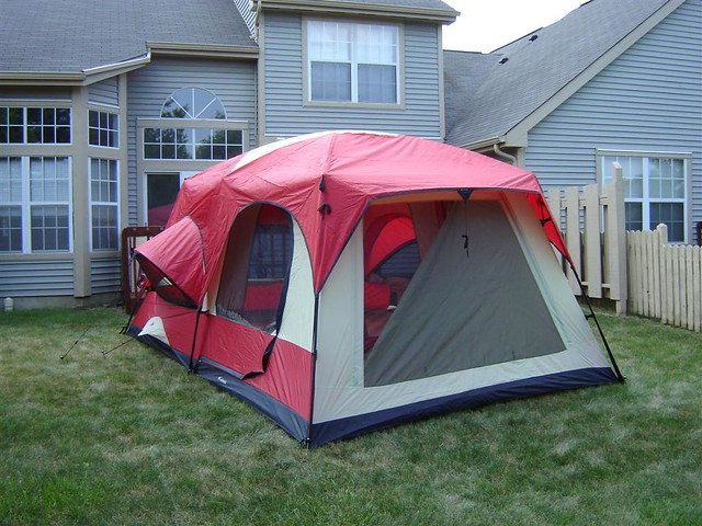 columbia cb 9000 cougar tent instructions