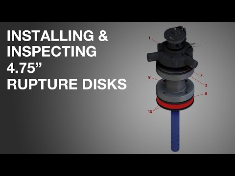 fike rupture disc installation instructions