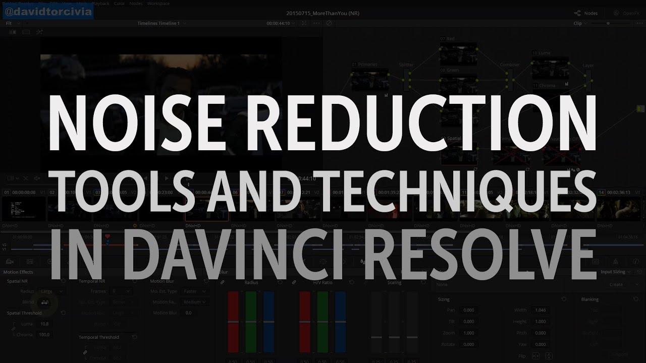 Davinci resolve how to create tv static