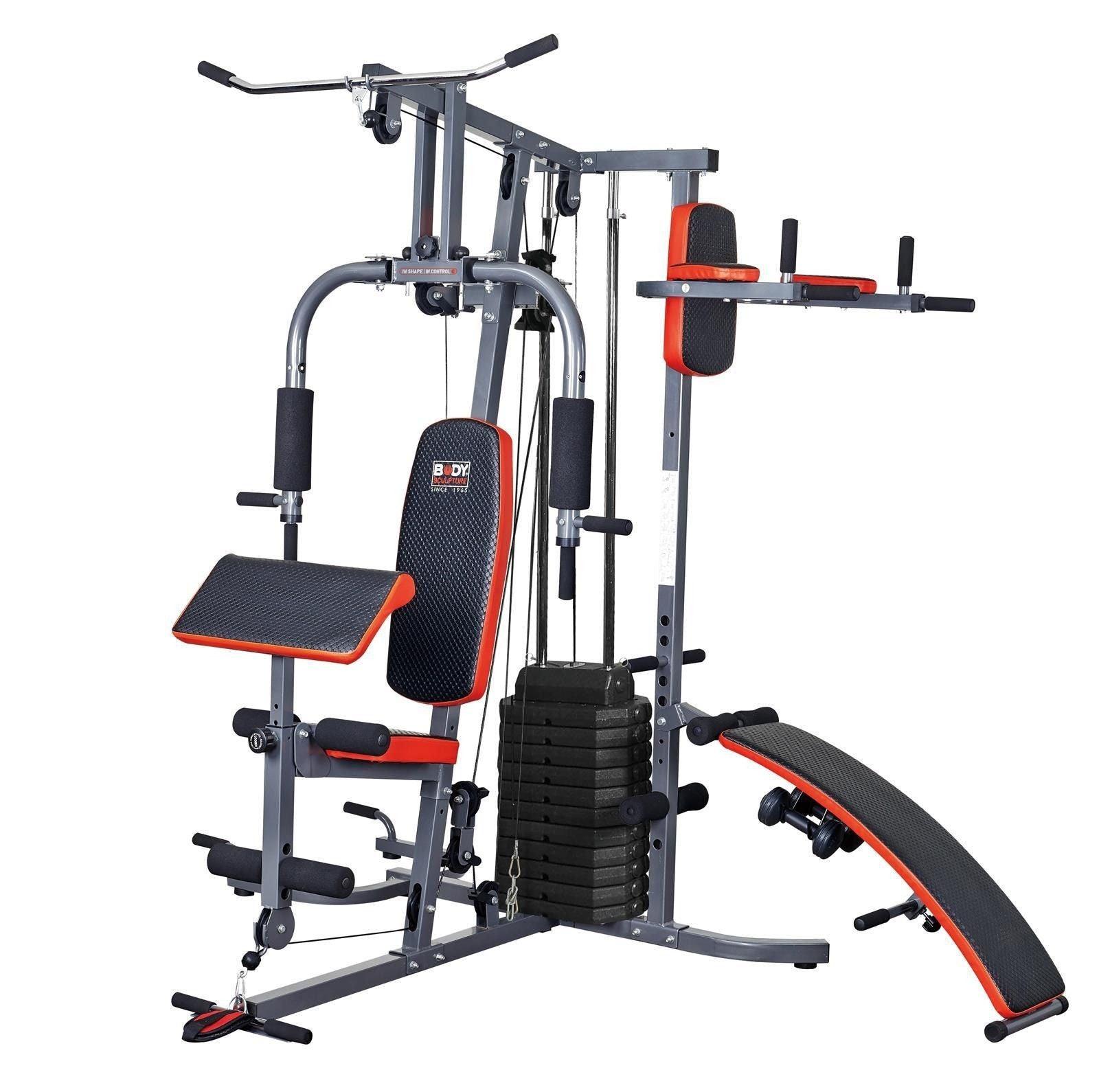 dynamix multi gym assembly instructions
