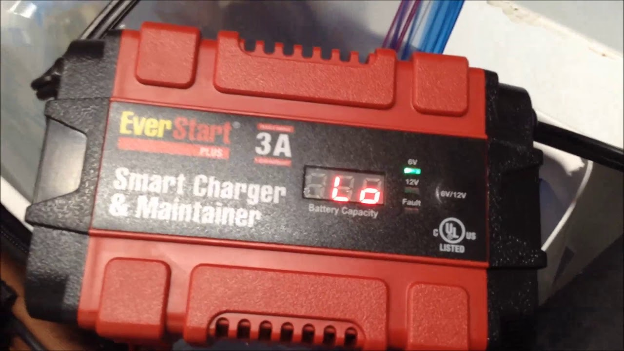 Everstart smart charger and maintainer manual