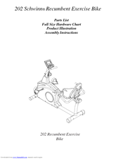 schwinn 203 recumbent bike manual