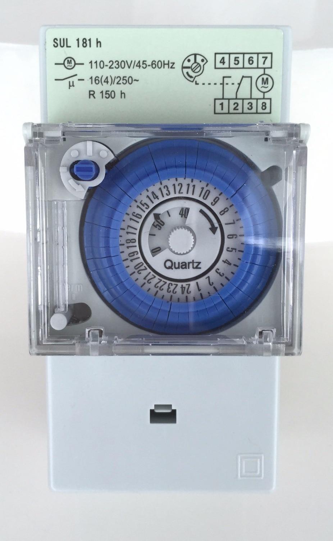 hpm 24 hr analogue timer manual
