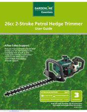 Gardenline petrol hedge trimmer manual