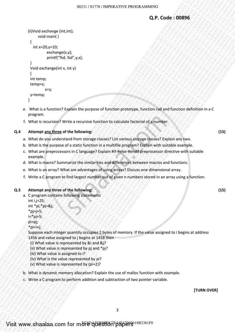 Imperative programming bsc it pdf