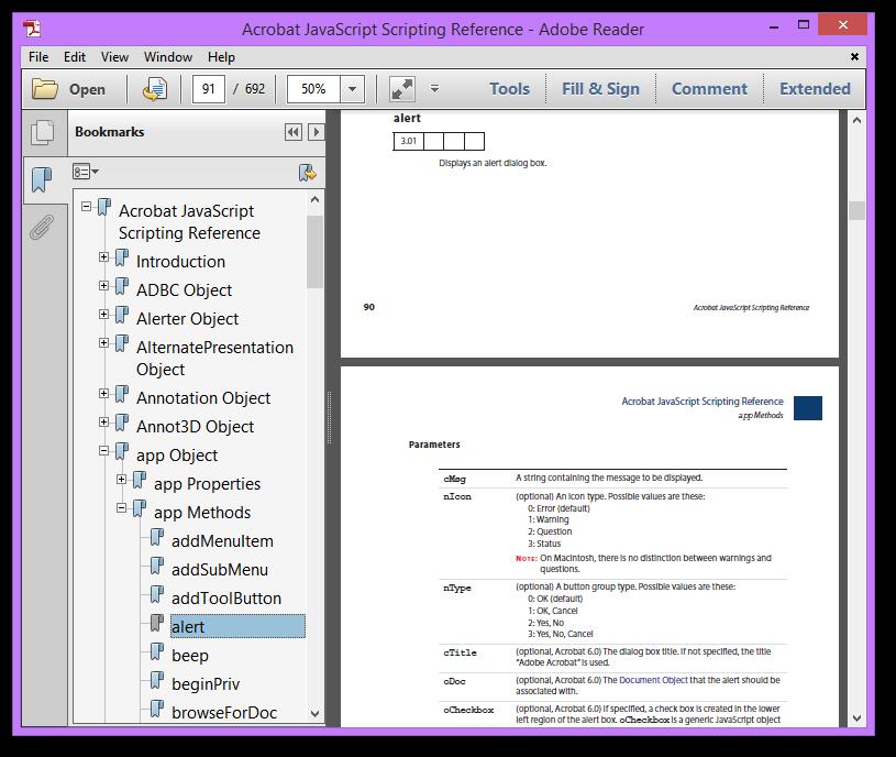 Javascript doc save as pdf