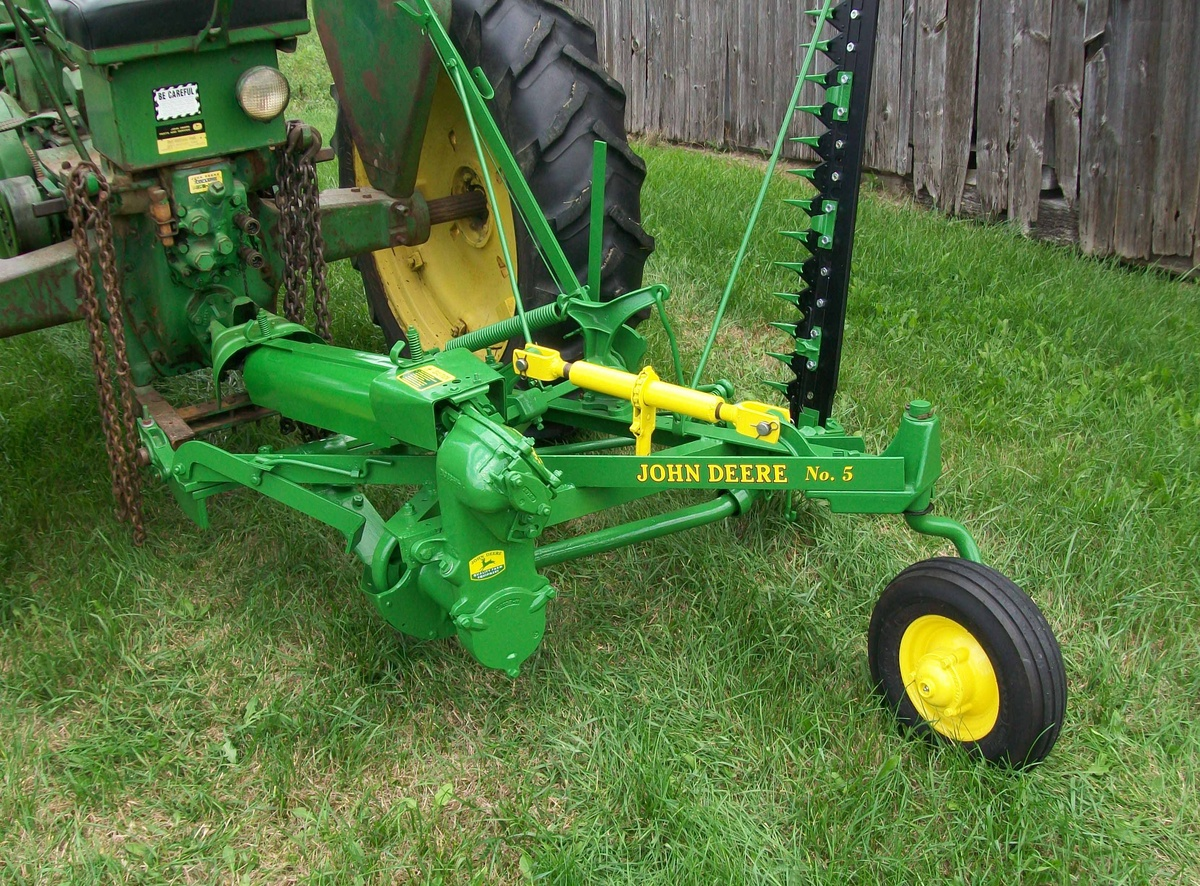 john deere no 5 sickle mower manual