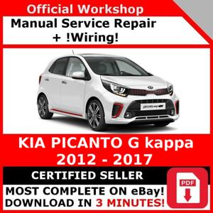 Kia picanto service manual pdf free