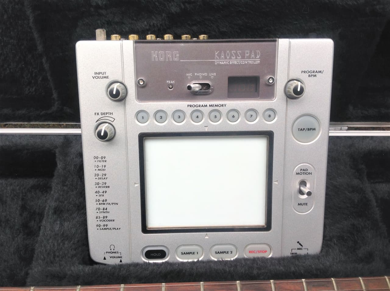 korg kaoss pad 2 manual