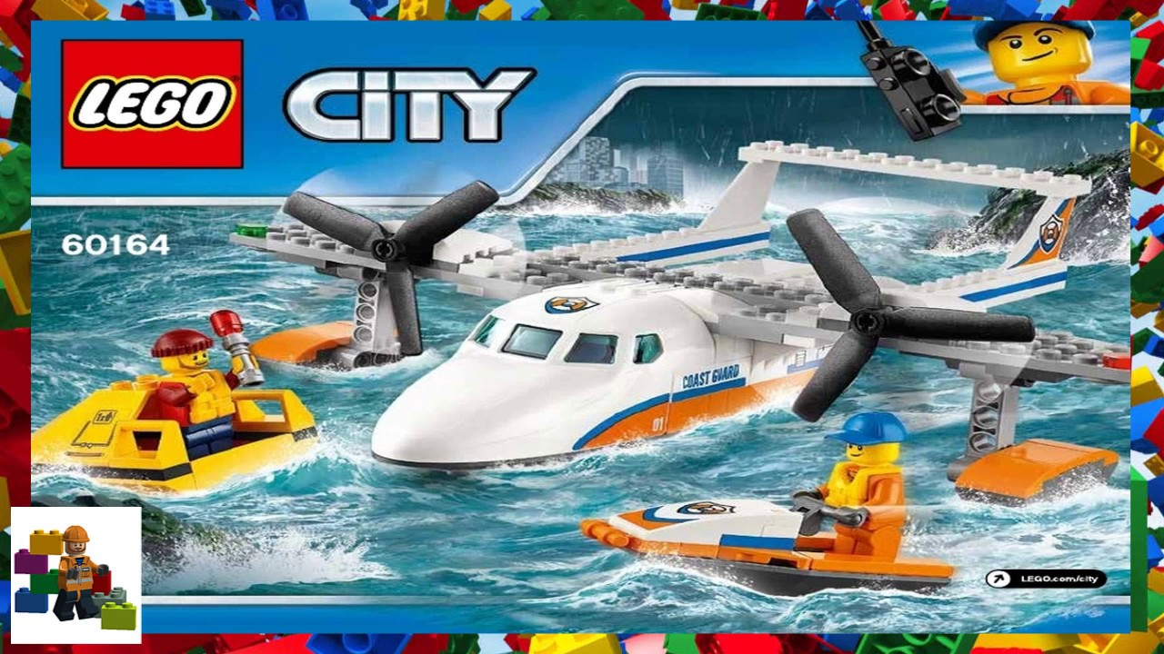 lego city coast guard instructions