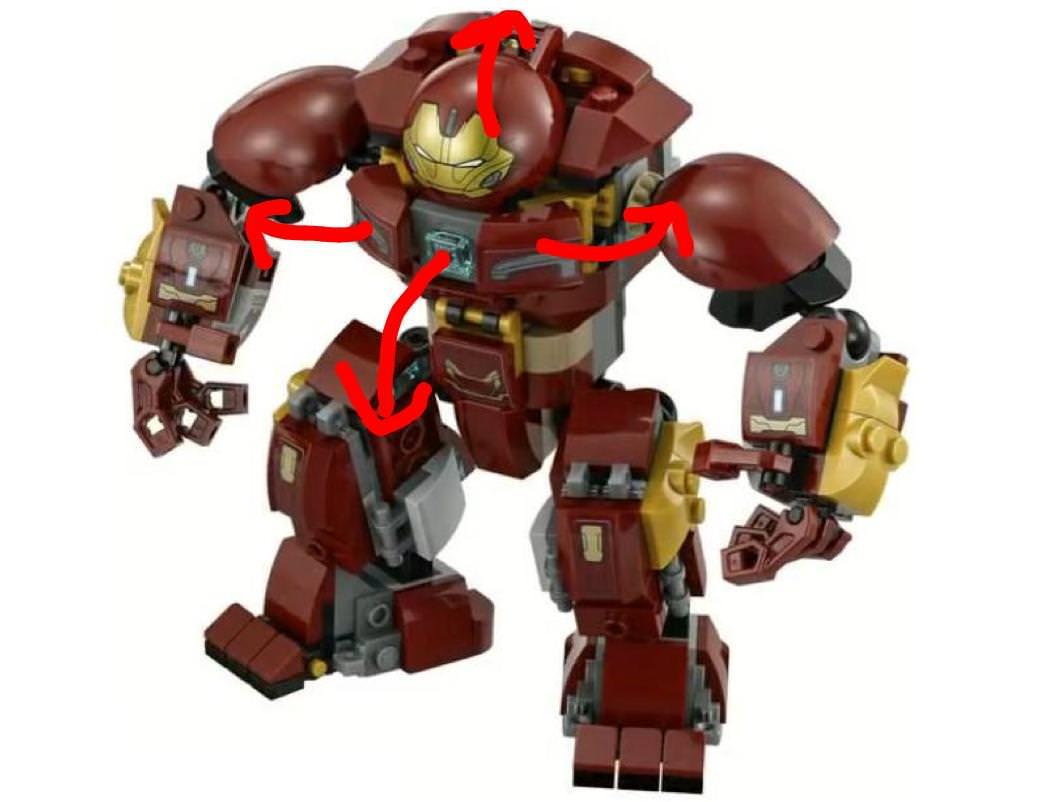 Lego hulkbuster instructions pdf