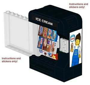 lego ice cream machine instructions