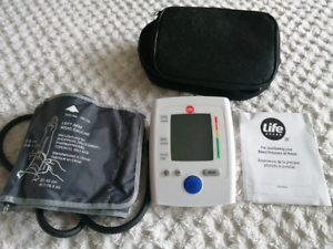 life brand blood pressure monitor instructions