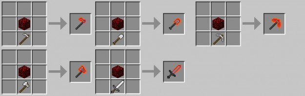 Minecraft how to make tools break certain blocks
