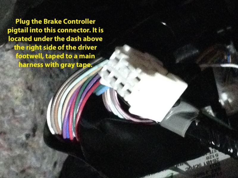 nissan pathfinder trailer brake wiring instructions