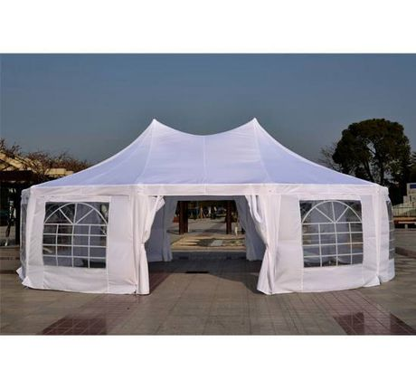 outsunny decagonal party tent instructions