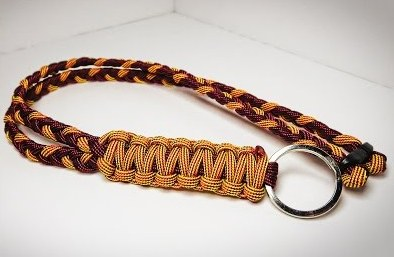 paracord lanyard necklace instructions