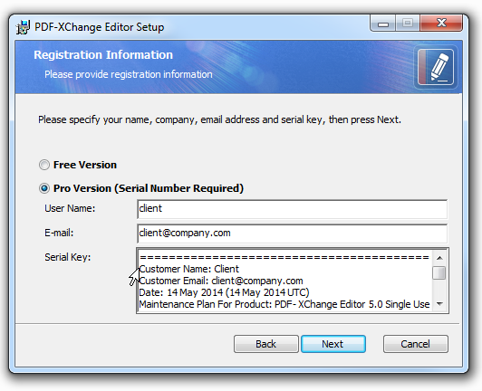 Pdf xchange viewer pro 2.5 322 serial key