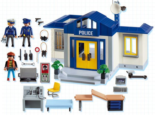playmobil police station instructions 3165