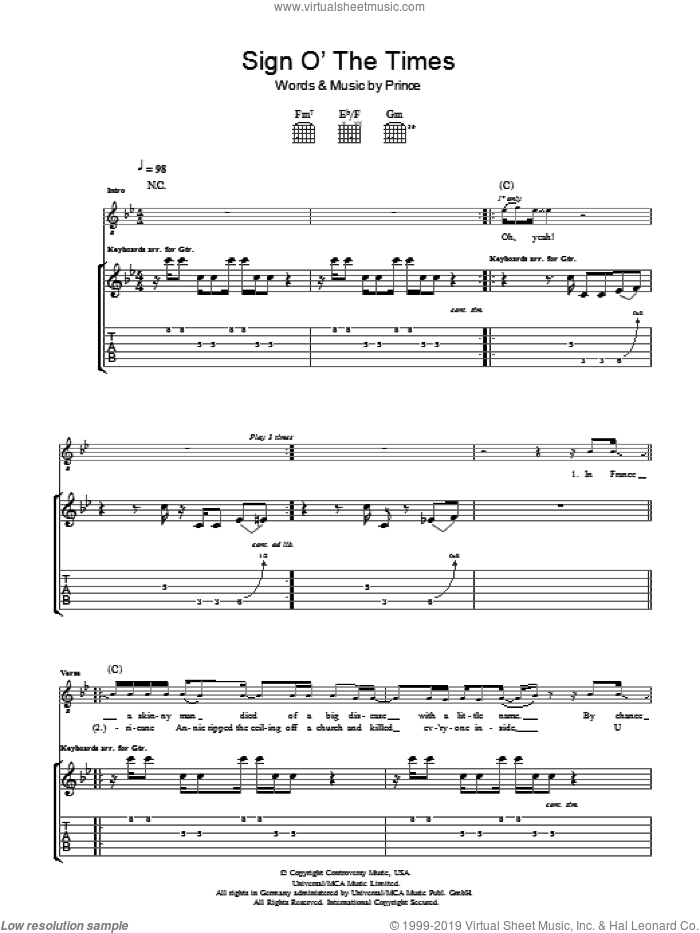 Prince of peace sheet music pdf
