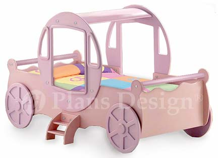 princess carriage bed assembly instructions