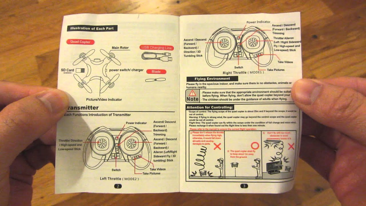 Quiksilver drone watch instructions