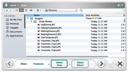 Seagate dashboard how to delete old backups