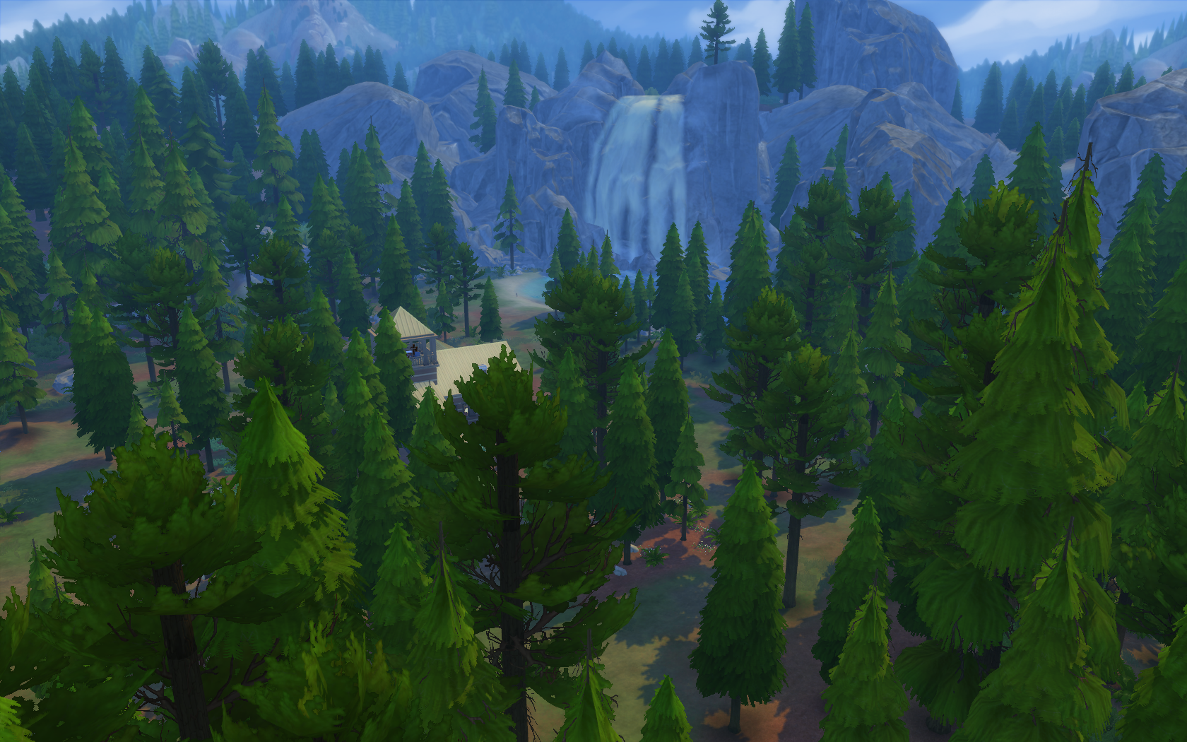 Sims 4 how to live in granite falls