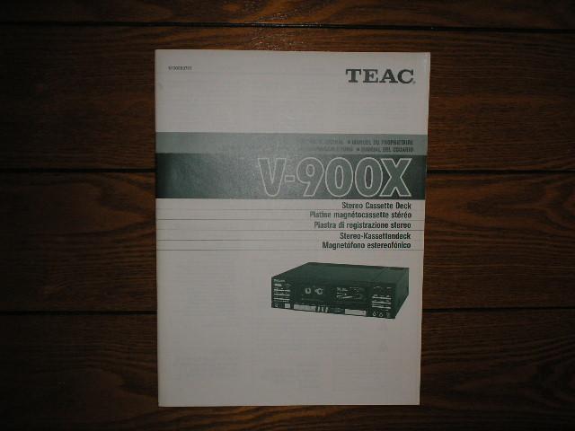 teac v-900x service manual