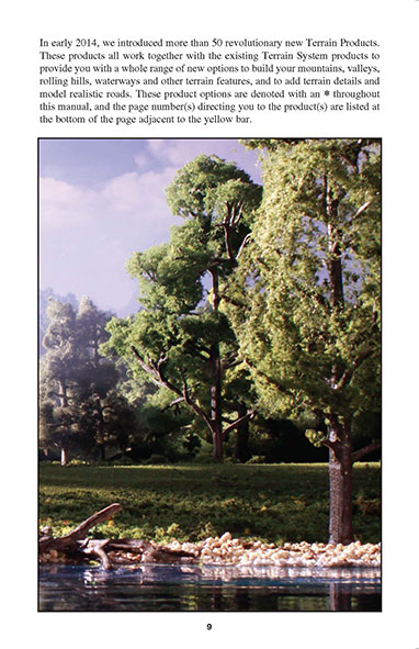woodland scenics scenery manual pdf