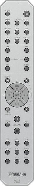 yamaha r-s300 receiver manual