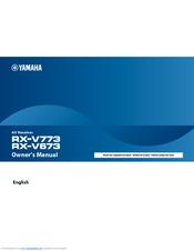 yamaha rx v673 manual pdf